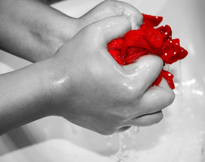 THANKING GOD FOR THE MEANS OF CLEANSING