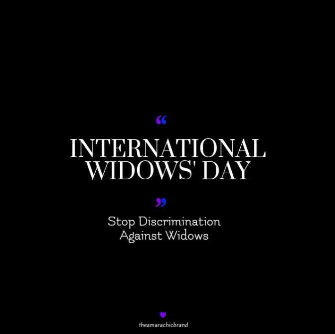 WIDOWS' DAY